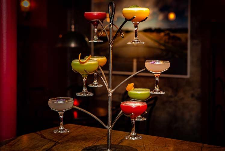Christmas drinks bars clubs